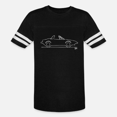 732dfcbdd9 Car Sketch Funny Original Sketch classic car t shirt - Unisex Vintage Sport  T-Shirt