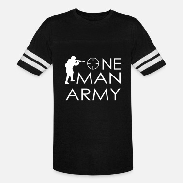 Army Man one man army - Unisex Vintage Sport T-Shirt