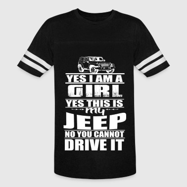 Muscle Jeep Jeep - Jeep - this is my jeep you can't drive it - Vintage Sport T-Shirt