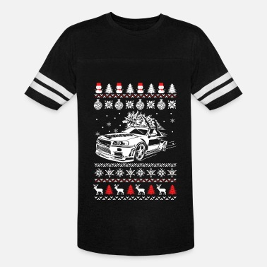 Performance Christmas sweater for Fast and furious fan - Vintage Sport T-Shirt