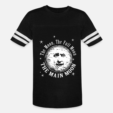 Moon Sign The Moon. The Full Moon. The Main Moon - Vintage Sport T-Shirt