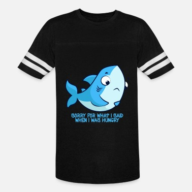 Hungry Shark Hungry Shark - Unisex Vintage Sport T-Shirt