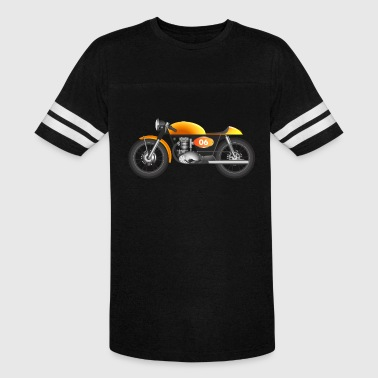 Vector Bike Cafe racer bike illustration vector design - Vintage Sport T-Shirt