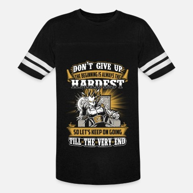 Badman Vegeta - Let's keep on going till the very end - Unisex Vintage Sport T-Shirt