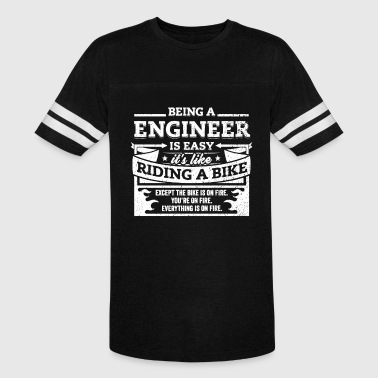 Being An Engineer Engineer Shirt: Being A Engineer Is Easy - Vintage Sport T-Shirt