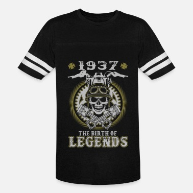 1937 Birth Year 1937 The Birth Of Legends - Vintage Sport T-Shirt