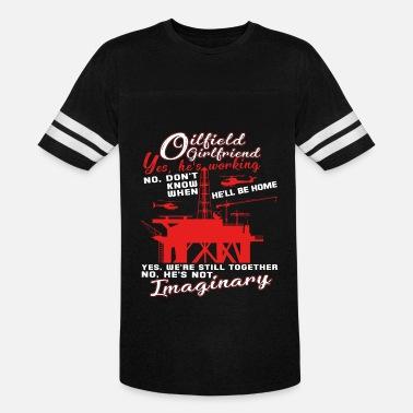 6e7113e6 Oilfield Girlfriend T Shirt Men's Hoodie | Spreadshirt