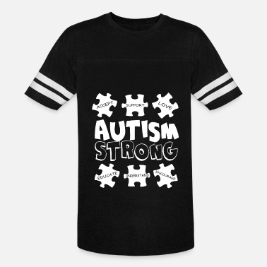 Autism Awareness Autism Strong Autism Strong Awareness Support Men s Autism - Vintage Sport T-Shirt