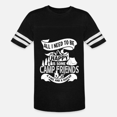 Friends Forever All I Need To Be Happy Is Some Camp Friend T Shirt - Unisex Vintage Sport T-Shirt