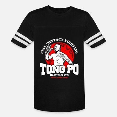 Jcvd TONG PO MUAY THAI ACADEMY - Vintage Sport T-Shirt