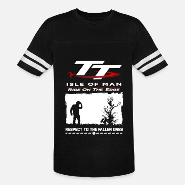 Isle Of Man Tt TT isle of man ride on the edge respect to the fal - Vintage Sport T-Shirt