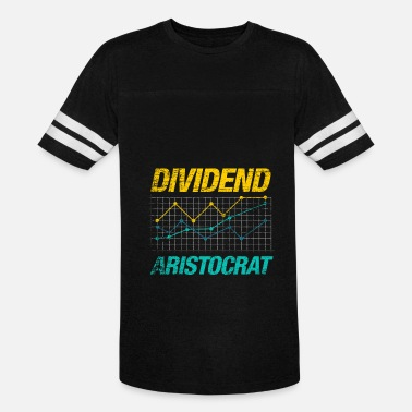Sleep Is For The Rich Dividend Aristocrat investing stock market rich - Vintage Sport T-Shirt