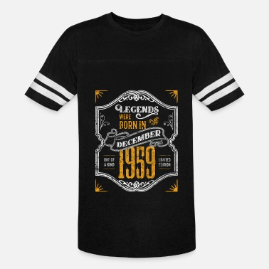 Black Queen Legends Were Born in December 1959 Awesome 60th Birthday Gift - Vintage Sport T-Shirt