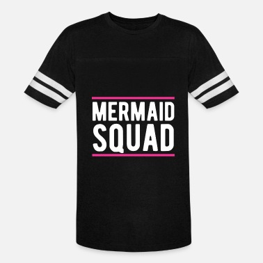 Mermaids Mermaid Squad Mermaid Birthday Party Shirt - Unisex Vintage Sport T-Shirt