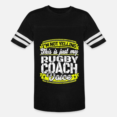 4ca105fe521 Funny Rugby coach: My Rugby Coach Voice - Unisex Vintage Sport T-Shirt