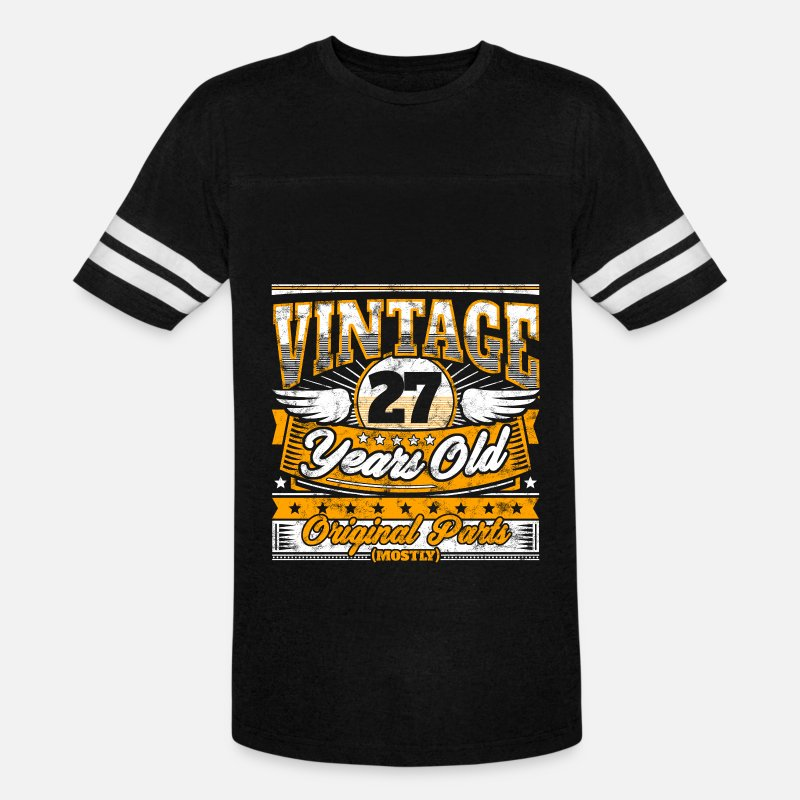 Unisex Vintage Sport T ShirtFunny 27th Birthday Shirt 27 Years Old