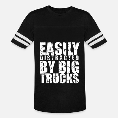 Mini-truck Easily distracted by big trucks - Vintage Sport T-Shirt