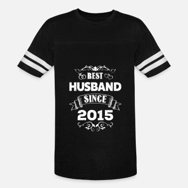 Happy 3rd Anniversary Best Husband Since 2015 - 3rd Wedding Anniversary - Vintage Sport T-Shirt
