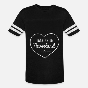 Heart Hands Dope Take Me To Neverland Top Hipster Tumblr Cute Heart - Unisex Vintage Sport T-Shirt