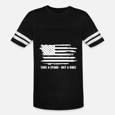 Boycott Stand For The Anthem I Don t Kneel Nfl Boycott Ame - Vintage Sport T-Shirt