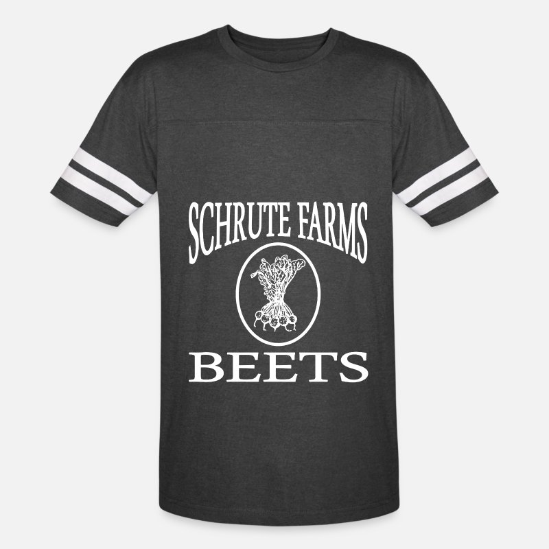 66656116 SCHRUTE FARMS BEETs THE OFFICE DWIGHT FARMS Unisex Vintage Sport T-Shirt    Spreadshirt