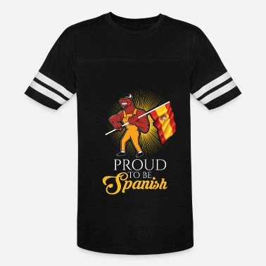 Spanish And Proud Proud to be Spanish Bull Soccer Gift - Vintage Sport T-Shirt