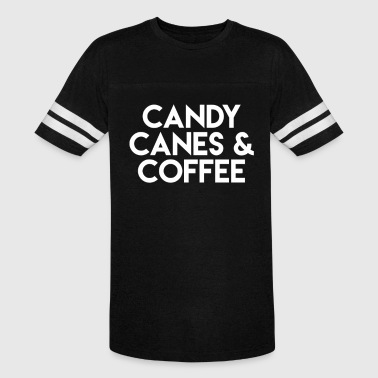 Candy Canes Coffee - Vintage Sport T-Shirt