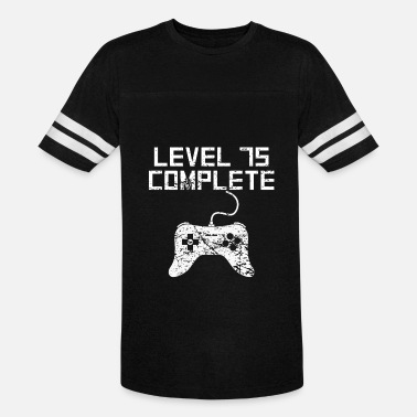 Level 75 Level 75 Complete 75th Birthday - Vintage Sport T-Shirt