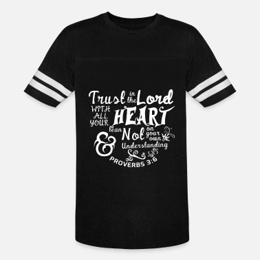 Voldemort Lord - Trust in the lord with all your heart tee - Vintage Sport T-Shirt