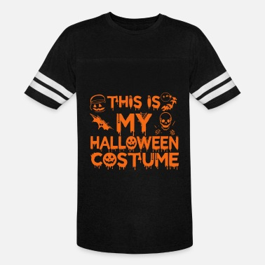 Catching This Is My Halloween Costume Party Scary Spooky - Vintage Sport T-Shirt