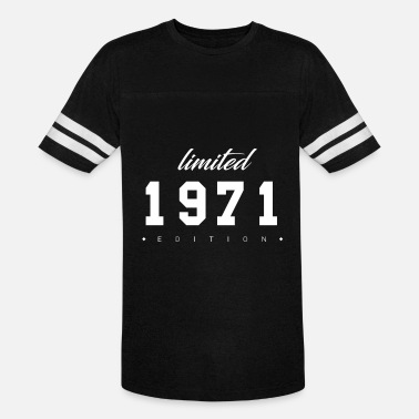 Number 71 Limited Edition - 1971 (gift) - Unisex Vintage Sport T-Shirt