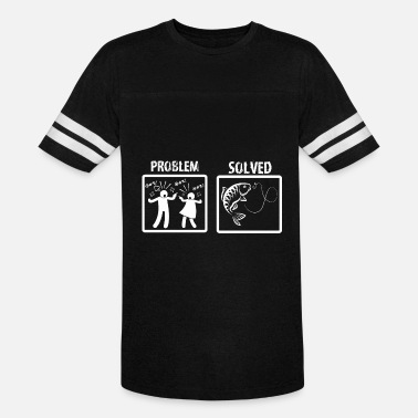Fishing Problem Solved Problem Solved Fishing - Vintage Sport T-Shirt