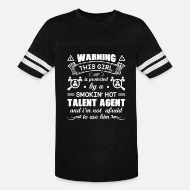 Protection Agent Protected By Hot Talent Agent Shirt - Vintage Sport T-Shirt
