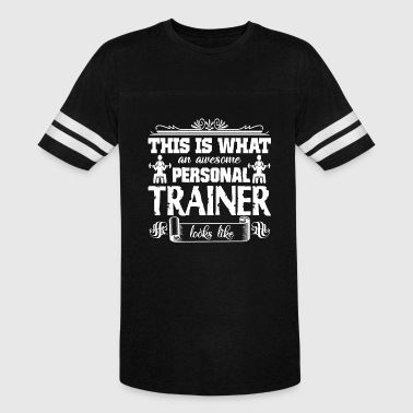 Person Awesome Awesome Personal Trainer Shirt - Vintage Sport T-Shirt