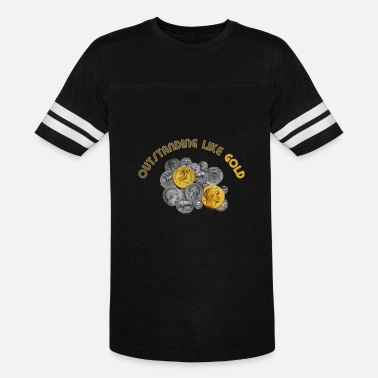 Outstanding Like Gold - Unisex Vintage Sport T-Shirt