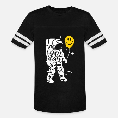 Balloon Jokes Astronaut With A Balloon - Vintage Sport T-Shirt
