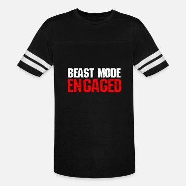 Beastmode On BEASTMOD Engaged - Vintage Sport T-Shirt