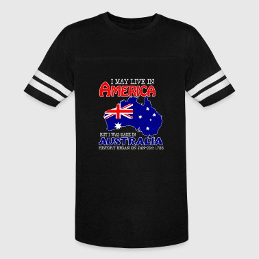 Heaps Good Live in America, made in Australia - Vintage Sport T-Shirt