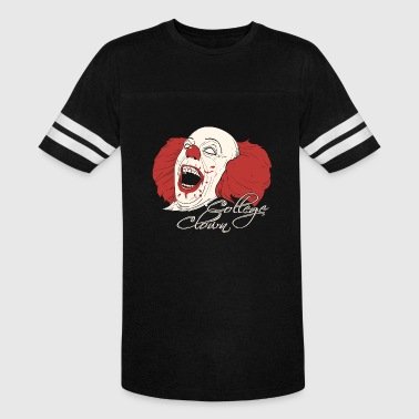 Pukie Crossfit Clown Fitness Clown - College Clowning - Vintage Sport T-Shirt