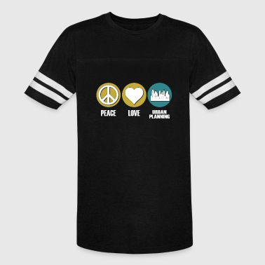 Urban planning - peace love urban planning - Vintage Sport T-Shirt
