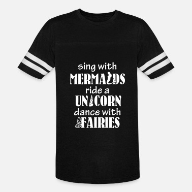 Prince Charming Snow White Fairy tail - Sing with Mermaids Ride a Unicorn - Vintage Sport T-Shirt