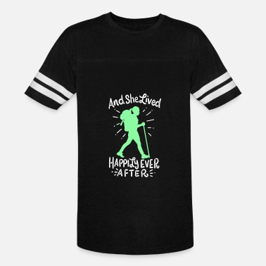Cool Hiking Hiking - Unisex Vintage Sport T-Shirt
