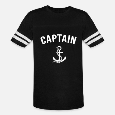 Sailor Boat Anchor Boating Sailor Boat Captain with Anchor - Vintage Sport T-Shirt