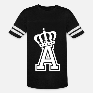 First Name Name: Letter A Character A Case A Alphabetical A - Unisex Vintage Sport T-Shirt