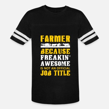Awesome Farmer Farmer - farmer because freakin' awesome not an - Vintage Sport T-Shirt