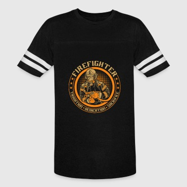 Fire Fighter - Vintage Sport T-Shirt