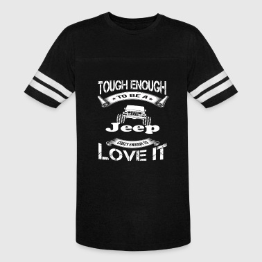 Jeep Muscle-t Jeep - Tough enough to be jeep awesome t-shirt - Vintage Sport T-Shirt