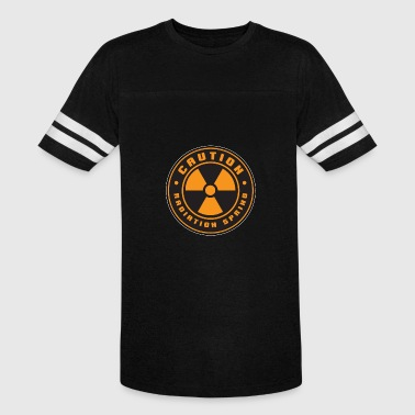 Radiation Atom Nuclear Radiation Explosion Science Gift - Vintage Sport T-Shirt