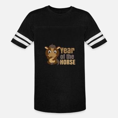 Chinese Zodiac 2014 2026 2002 1990 1978 1966 1954 1942 Chinese Zodiacs Year of the Horse - Gift Idea - Vintage Sport T-Shirt