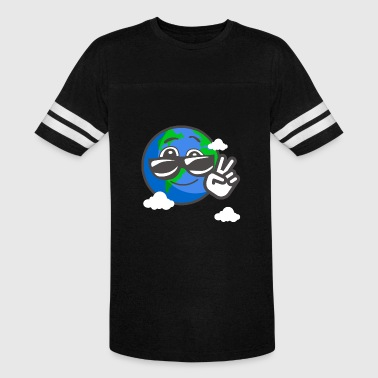 Earthday Peace - Vintage Sport T-Shirt
